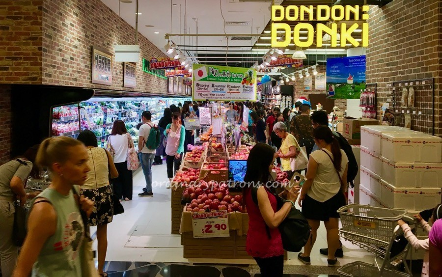 What to eat and buy at Don Don Donki @ Orchard Central Singapore