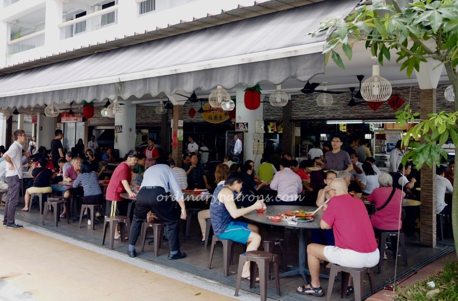 Top place for steamed fish in Singapore