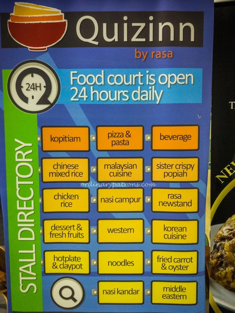 Quizinn by RASA Food Court