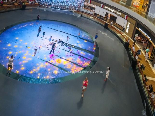 Digital Light Canvas at Marina Bay Sands