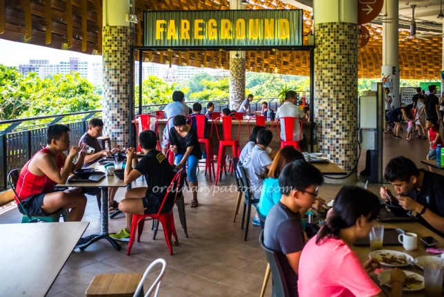 Fareground at Pasir Ris Hawker Centre
