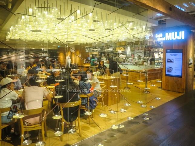 Cafe Muji Plaza Singapura