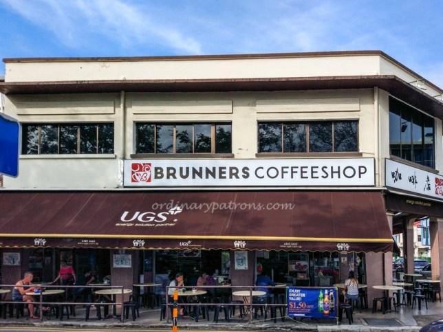 Brunners Coffeeshop Katong