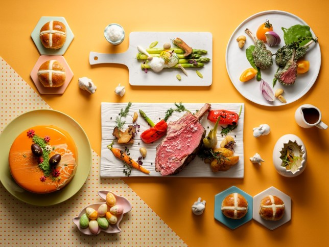 Edge - Easter brunch and buffet in Singapore