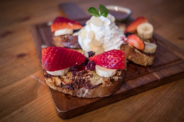 Almond French Toast $13