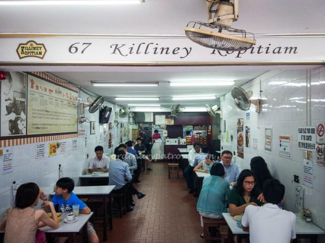 Killiney Kopitiam at Killiney Road