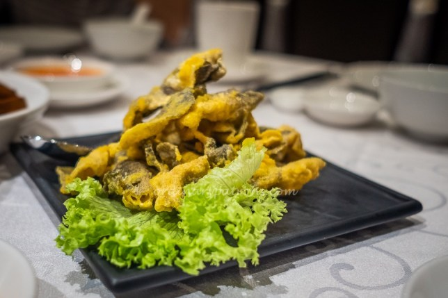 Famous Treasure Salted Egg Fish Skin