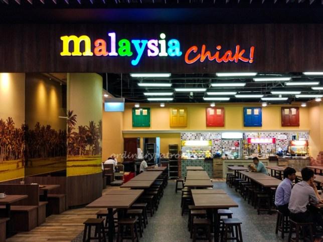 Malaysian Chiak at Marina One