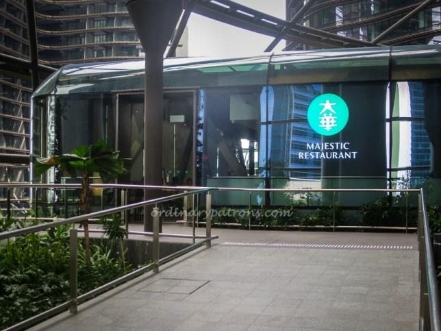 Majestic Restaurant at Marina One