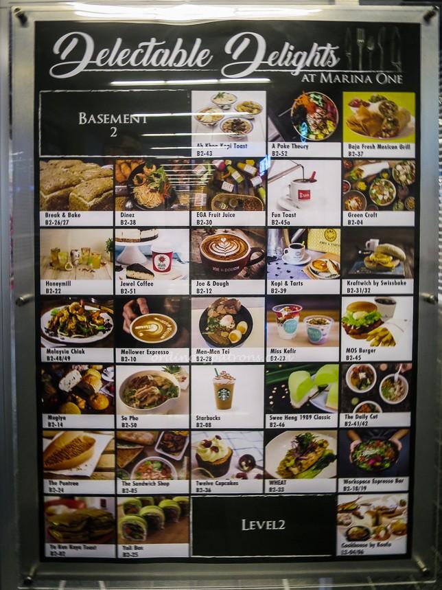 Marina One Food Directory
