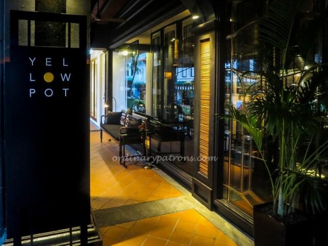 Yellow Pot Restaurant at Six Senses Duxton