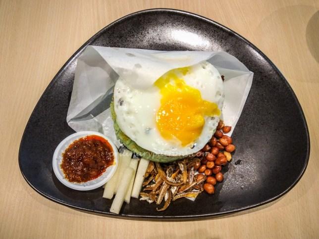 Royals Cafe Nasi Lemak Burger