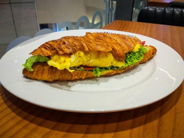 Croissant of Coffeesmith Suntec
