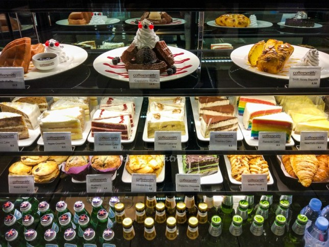 Cakes Coffeesmith Suntec City