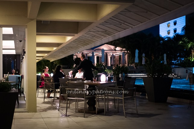 Dolce Vita offers modern Italian cuisine by the pool at Mandarin Oriental