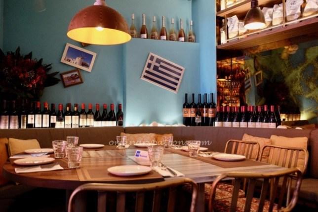 Fotia Greek Restaurant at Club Street / Gemmill Lane Singapore