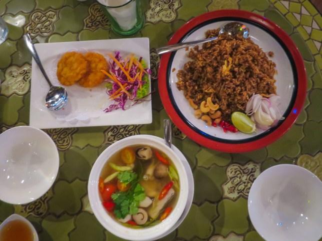 Thai Food at Basil & Thyme