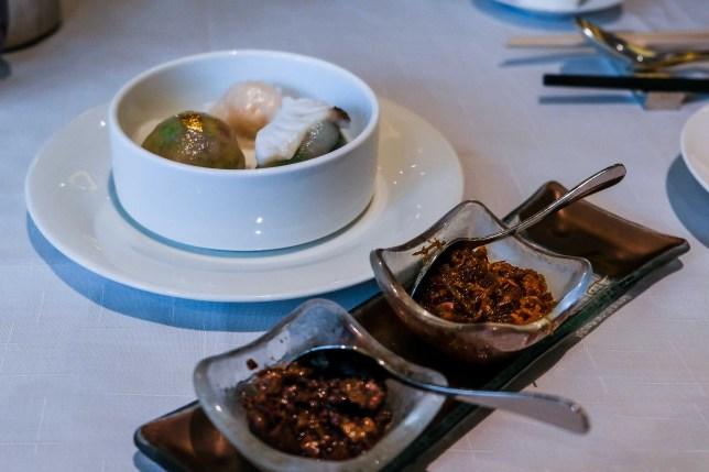 Dim Sum at Ming Court Hong Kong