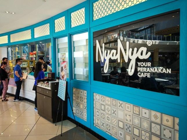 Nya Nya Peranakan Cafe in Suntec City