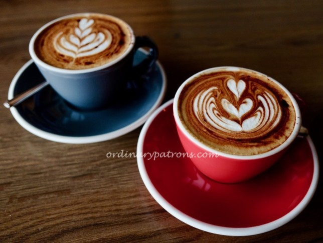One Man Coffee cappuccino
