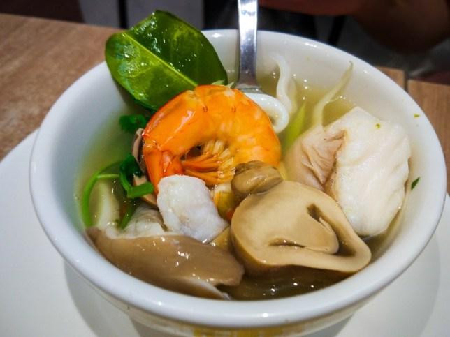 Sanook Kitchen Tom Yum Soup