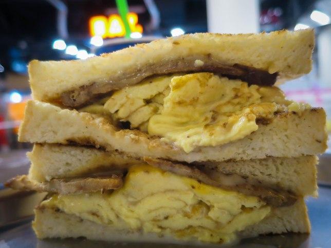 Fong Sheng Hao Singapore  Pork Egg & Cheese Toast