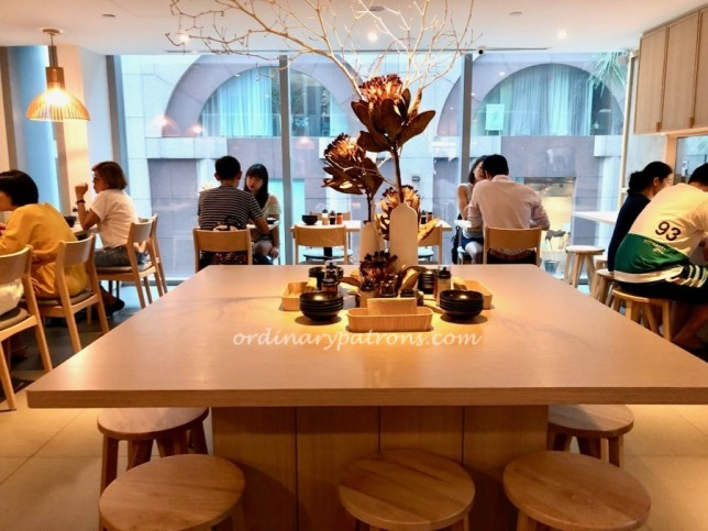 Tenjin new restaurant at Shaw Centre by Les Amis