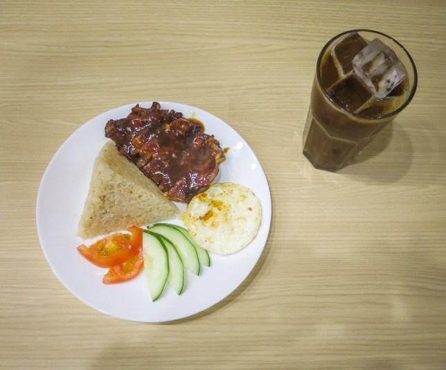 XiXiang Kaya Kopitiam Chicken Rice