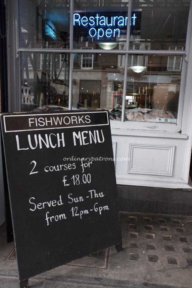 Fishworks Marylebone