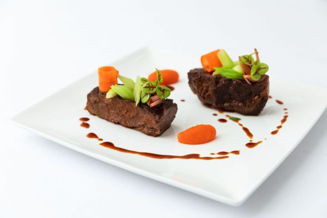 Tablescape - Black Angus Beef Cheek, Carrot, Celery and Onion