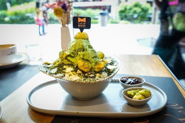 Cafe de Muse, Bingsu & Coffee at Isetan Scotts