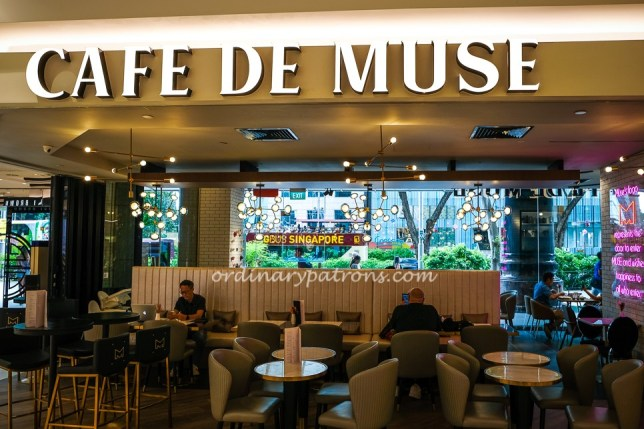 Cafe de Muse, 24 Hour Cafe at Isetan Scotts