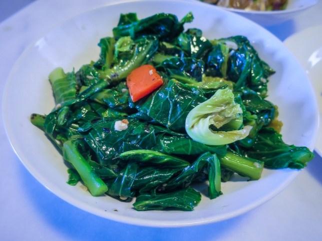 baby kai lan of Joo Heng Restaurant in Joo Chiat