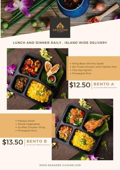 Sawadee Thai Cuisine Menu