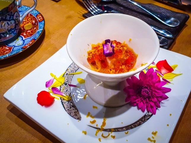 Monte Risaia Restaurant - sashimi