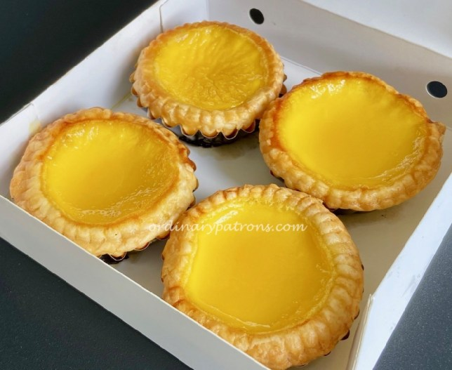 Joy Luck Teahouse Ion Orchard Egg Tarts