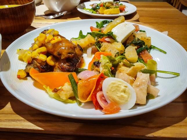Festive Meal at Café&Meal MUJI Raffles City