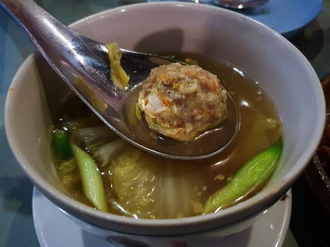 Bakwan Kepiting Soup : Enjoy Eating House and Bar @ Jalan Besar.