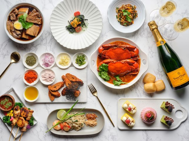 Mother's Day Brunch at Edge, Pan Pacific Singapore