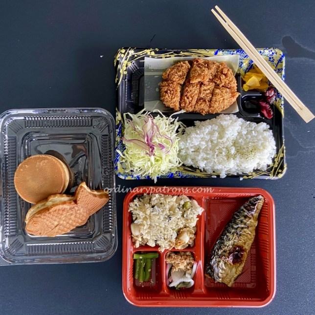 Japanese Food Takeaway from Takashimaya