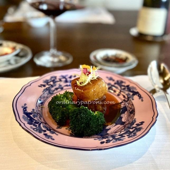 Romantic Michelin Star Restaurant Lunch in Singapore