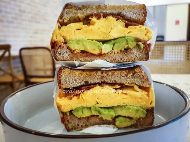 Little Rogue Coffee ABS Diet Sandwich