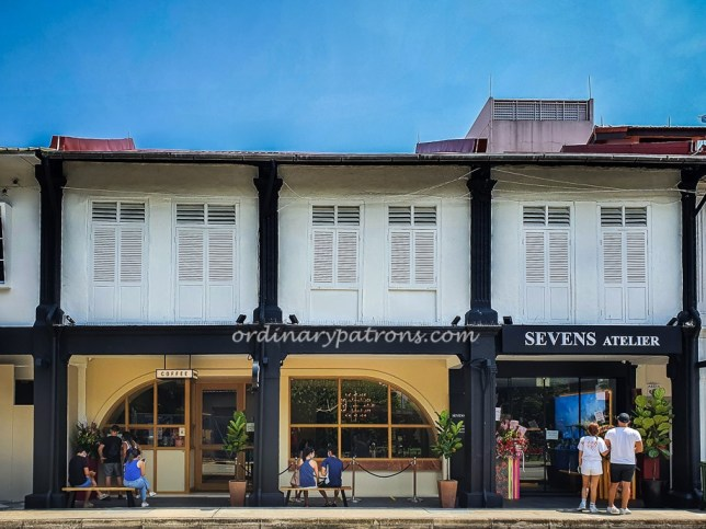New Sevens Cafe in Joo Chiat Place