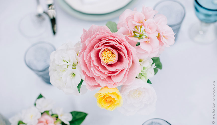 Peony Forever  - Handmade with Crepe Paper