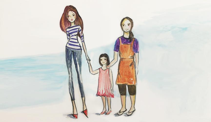 Employer Helper Maid Child