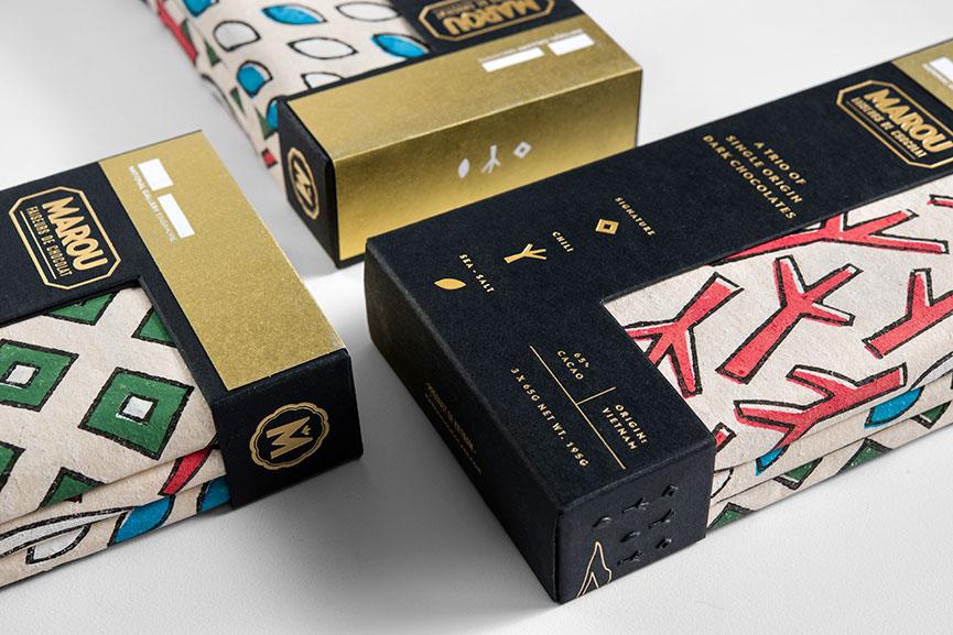 Gallery & Co, Marou Packaging