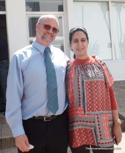 With the incredible Fatima