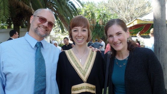 Thomas and I with darling Jamie! She studied creative dance and has great plans to help incorporate various creative arts into youth centers.