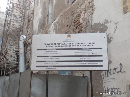 Restauration of an older synagogue