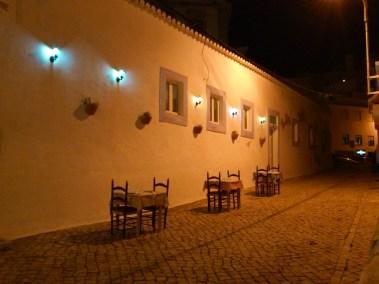 Night cafe.